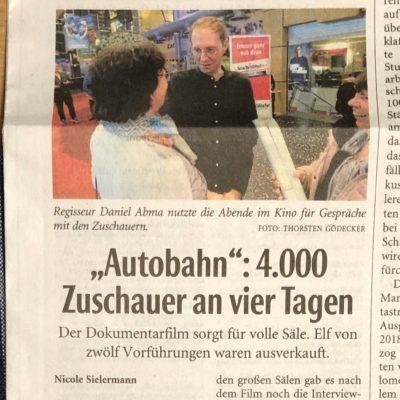 Kinostart in Deutschland
